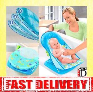 Summer Infant Deluxe Travel Baby Bather Splish Splash Bath Support Seat Chair