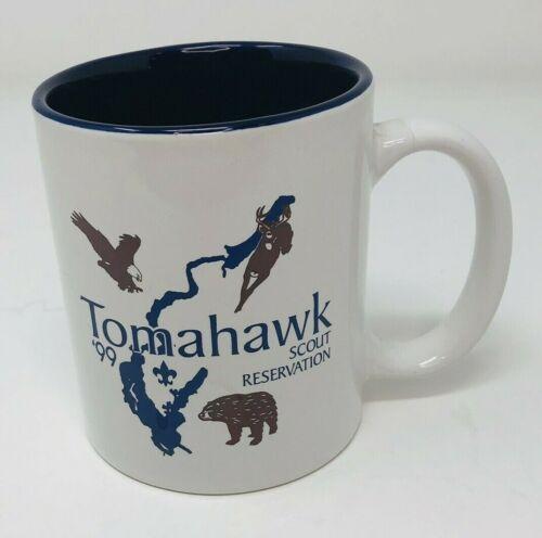 Vintage 1999 BSA Tomahawk Boy Scout Reservation Leader Coffee Mug Cup
