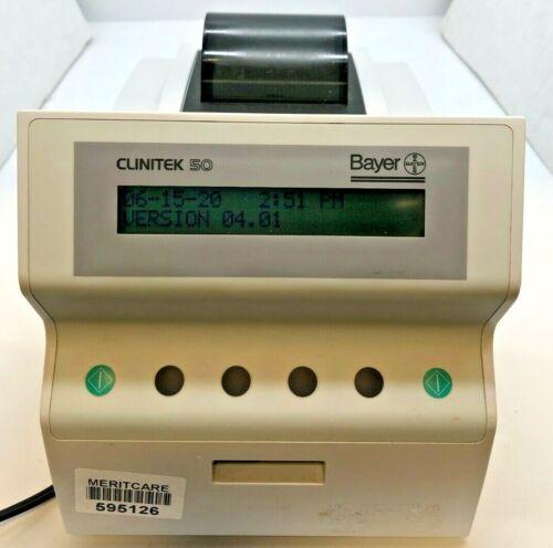 Bayer Clinitek 50 Urine Dipstick Analyzer - Used