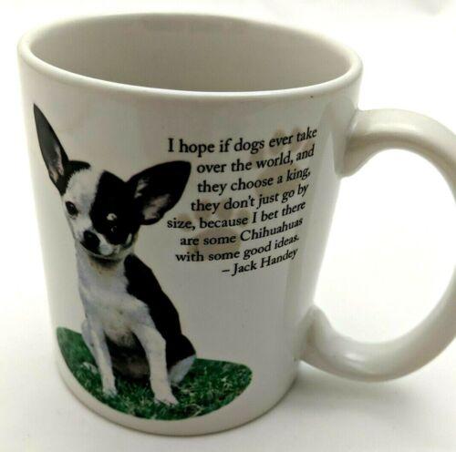 Barbara Augello Chihuahua Mug  Jack Handey Quote