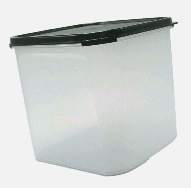SALE! Tupperware 17C Modular Mate Square #3 Storage Container w/Seal! New Black