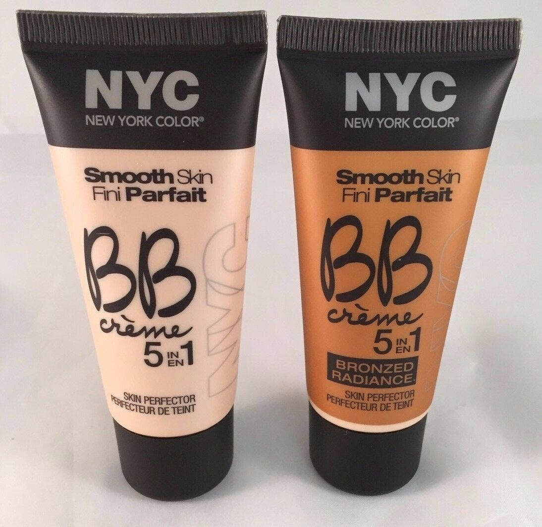 (QTY 2)NYC Smooth Skin BB Cream Medium/Bronzed Rad(You Choose)~COMBINED SHIPPING