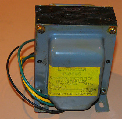 Stancor P-8645 Transformer 117v Priamary 25.2v Ct 5 Amps Secondary