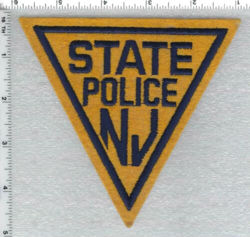 New Jersey State Police Shoulder Patch version 3