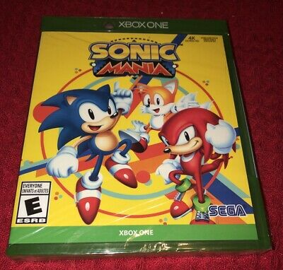 Sonic Mania Xbox One Brand New Factory Sealed See Details