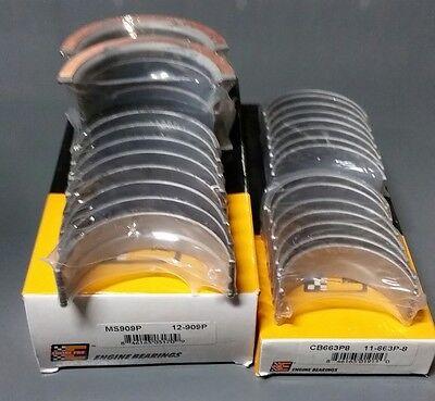 Rod Main Engine Bearings - Engine Pro Rod & Main Bearings Set Chevy 305 350 - STD