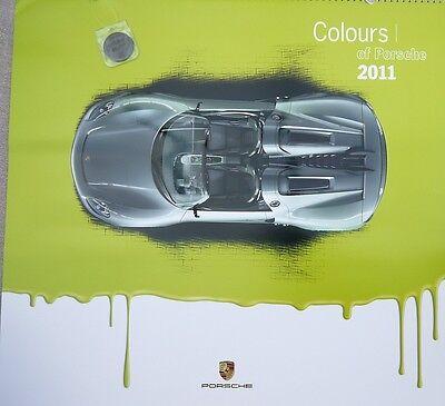 """Porsche 2011 Christophorus Calendar, """"Porsche in Colours"""""""