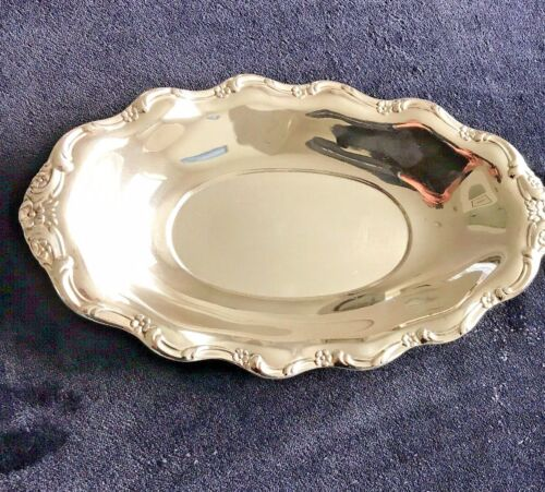 Vintage Sterling Silver Bread Tray by Reed & Barton