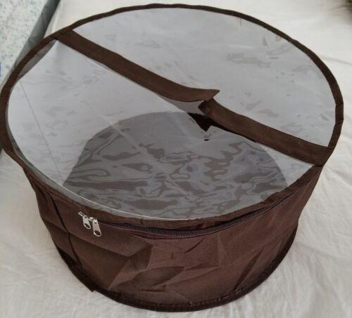Large hat box Brown