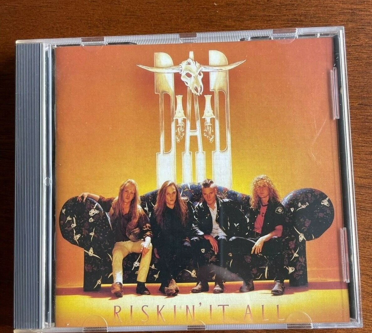 Riskin It All By D A D First Edition CD Condition Nr Mt. - $14.12