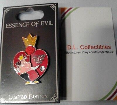 Alice In Wonderland Evil (Disney Alice in Wonderland Essence of Evil Queen of Hearts pin)