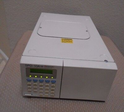 Shimadzu Spd-10a Vp Hplc System Uv Vis Detector Tested Nice Agilent Waters Hp
