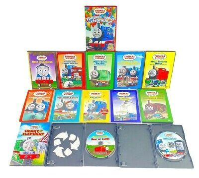 Thomas and Friends DVD Lot of 14 Thomas The Train Movies Various Storytellers