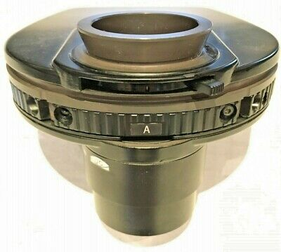 Nikon Turret Condenser With 0.52 Lwd Lens For Te2000 Microscope