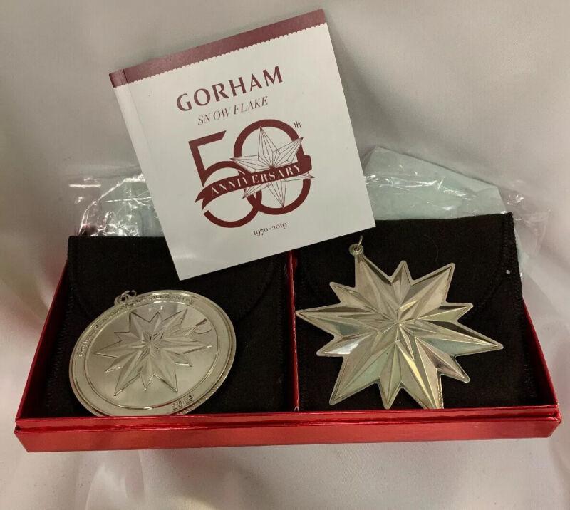 Gorham Snowflake 2019 50th Anniversary Set NEW