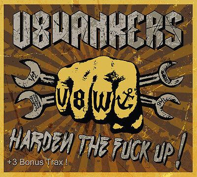 V8 WANKERS - HARDEN THE FUCK UP! DIGI CD + 3 BONUS TRACKS mit Angry ROSE TATTOO gebraucht kaufen  Hamburg