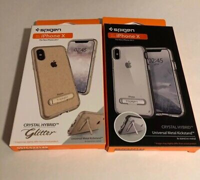 Lot Of Two Spigen Brand Iphone X Cases. Super Deal. Best Price On