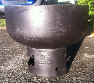 """METAL FIRE PIT """"UNUSED"""" Wavell Heights Brisbane North East Preview"""