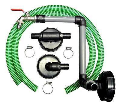 Ibc Connector Rain Tank Connector 3-fach + Swan Neck Dn 80
