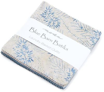 Blue Barn Batiks Moda Charm Pack 40 100% Cotton Fabric 5