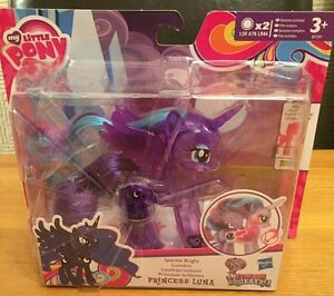 My Little Pony Explore Equestria Sparkle Bright Princess Luna NEW
