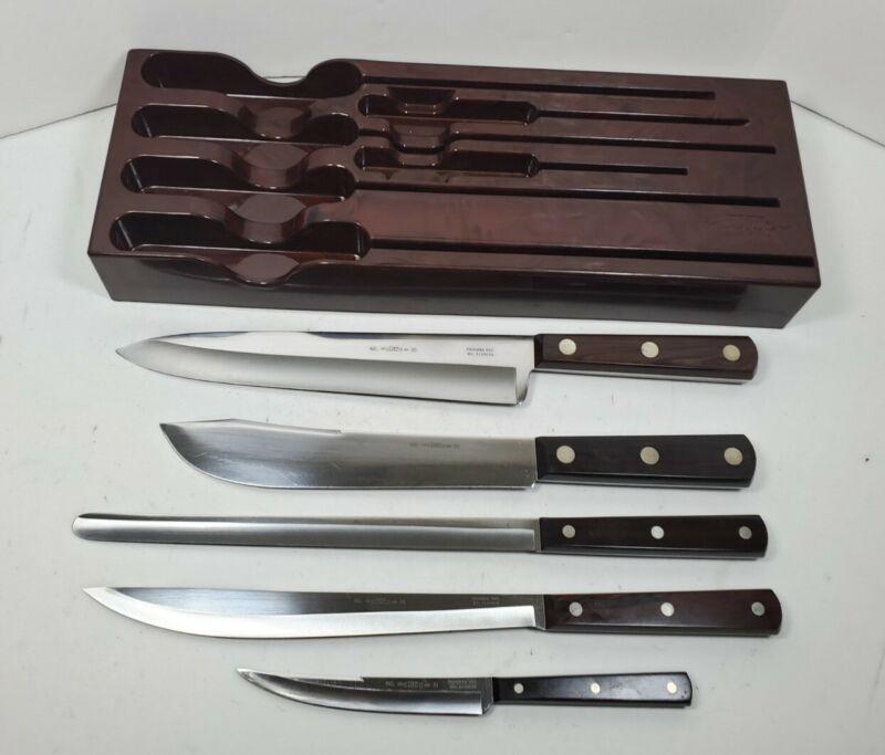 Vintage 5 Piece Cutco Knife Set #40 Knives 32 31 34 33 35