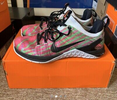 Size 8.5 Nike Metcon Flyknit DSX Wodapalooza Squat Weightlifting Shoes