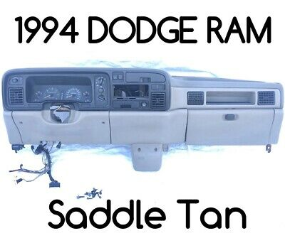 94-97 DODGE RAM Pickup Dashboard assembly Frame Core Turbo Diesel Cummins Truck