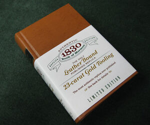 Book of Mormon: 1830 Edition (the ONLY Leather Bound replica)
