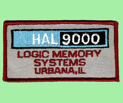 2001 / 2010 Patch - Uniform Aufnäher HAL 9000 - gestickt - zum Aufbügeln