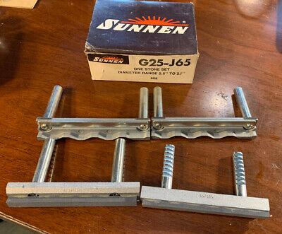 Nos Sunnen Portable Hone G25-j65 Stone Set Portable Hone 280 Grit 2.5-2.7