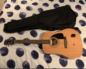 Fender FA-100 Acoustic Guitar (Used) WITH bag, pick and tuner