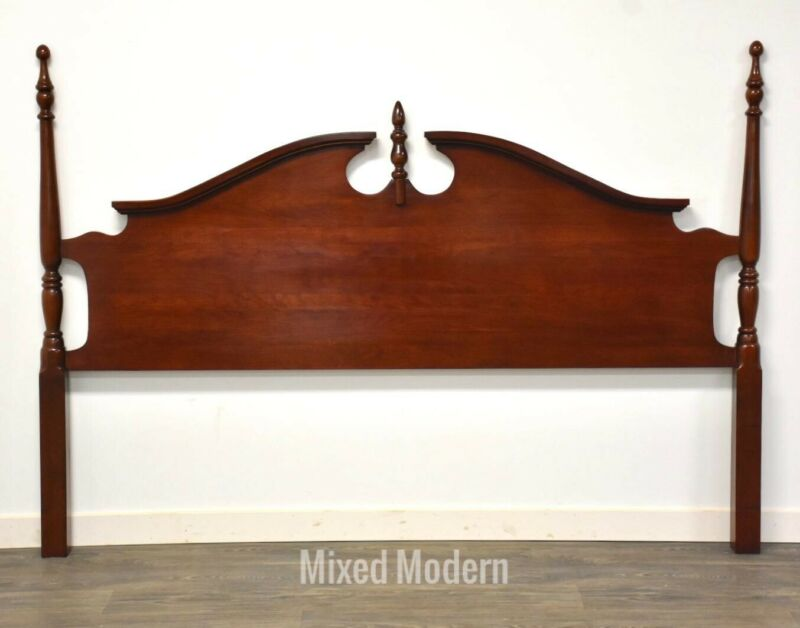 Solid Cherry King Traditional Headboard