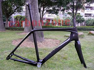 Carbonzone-Full-Carbon-bicycle-parts-Road-bike-ISP-carbon-Frame-Fork-BB30