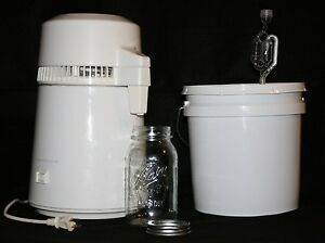 Details about Easy Electric Countertop Alcohol Distiller Moonshine