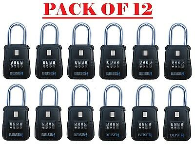 Pack of 12 Lockbox key lock box for realtor real estate 4 digit