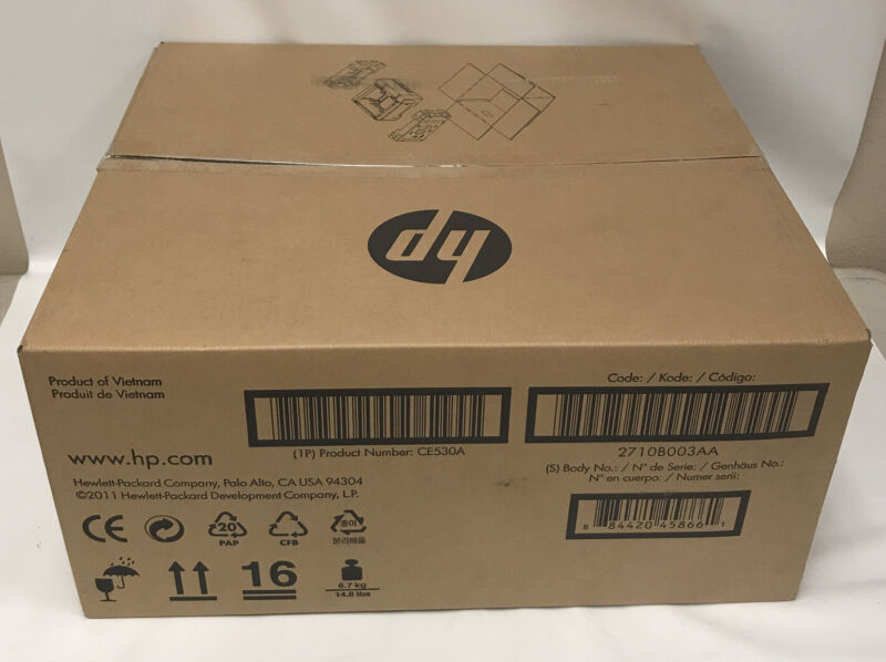 NEW Genuine HP CE530A 500 Sheet Paper Tray/Feeder for P3015 M525-Factory Sealed