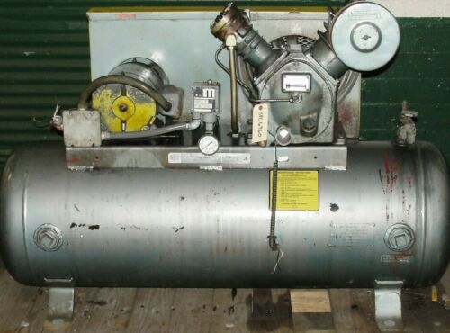 Ingersoll-Rand 5 hp reciprocating air compressor Model 253-T306TM Type 30 used
