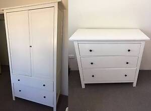 1 Wardrobe and 1 HEMNES Chest of 3 drawers Randwick Eastern Suburbs Preview