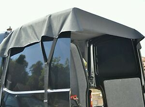 Van rear door canopy