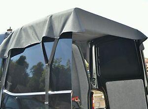 Van Back Door Awning Installing A Garage Door