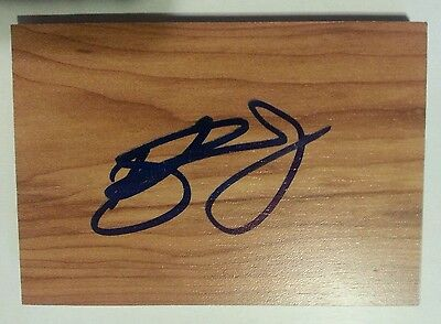 Kyle Singler Duke / Oklahoma City Thunder Signed Mini Floorboard