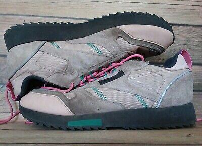 Women's Size 8.5 Reebok Classic Leather Ripple Trail Hiking Shoes Sneaker