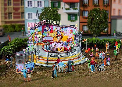 Crazy Clown (Faller, 140424, Fahrgeschäft Crazy Clown, Kirmes, Jahrmarkt, neu, OVP)