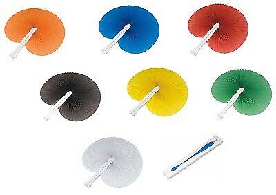 100 pezzi Ventaglio per matrimonio segnaposto bomboniera segnaposto 7 colori