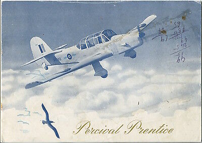 PERCIVAL PRENTICE MANUFACTURERS SALES BROCHURE 1947 BASIC TRAINER