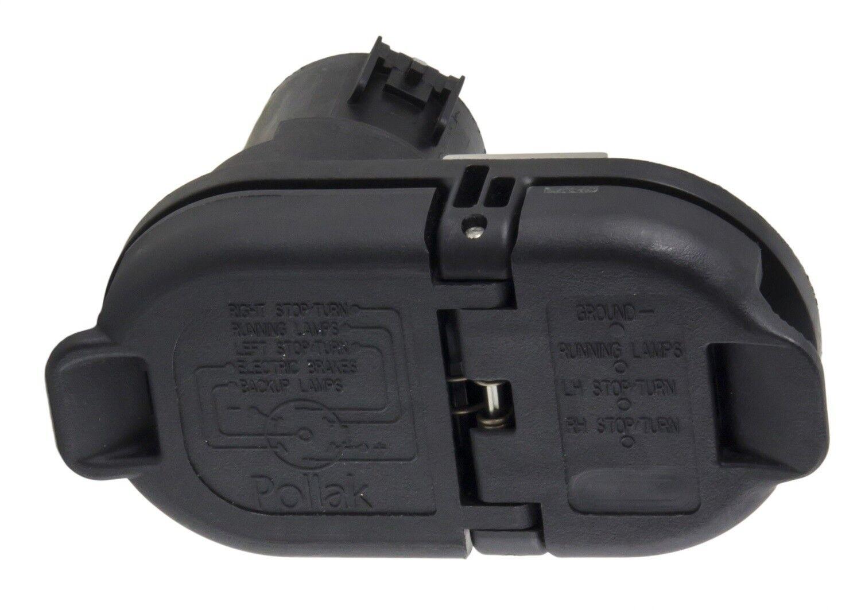 Trailer Wiring Harness-Vehicle Side OEM Trailer Connector Kit Hopkins on