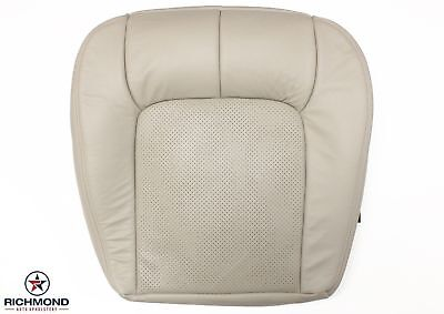 2000 Cadillac Seville STS -Driver Side Bottom Replacement Leather Seat Cover Tan