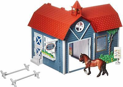 Breyer Riding Camp Barn Set Stablemates Series Horse Model #59212