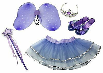 Girls Dress Up Little Fairy Princess Role Play Costume Set for Kids Ages 3-6 yrs (Fairy Dresses For Little Girls)